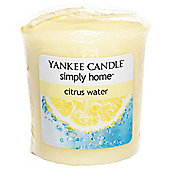 Yankee Votive Citrus Water