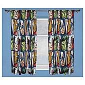 "Marvel Avengers Curtains 54"" Drop"