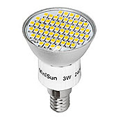 MiniSun SES E14 3W 60 SMD LED Spot Light Bulb Warm White