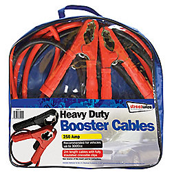 2m HD 250Amp Booster Cable- Suitable for up to 3000cc