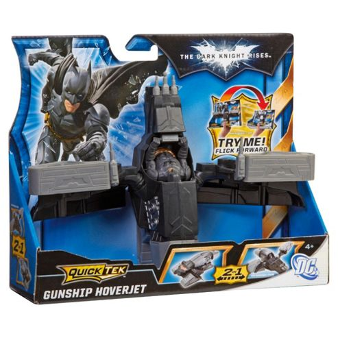 Batman Dark Knight Rises Quick Tek Figure & Vehicle - Only One Supplied