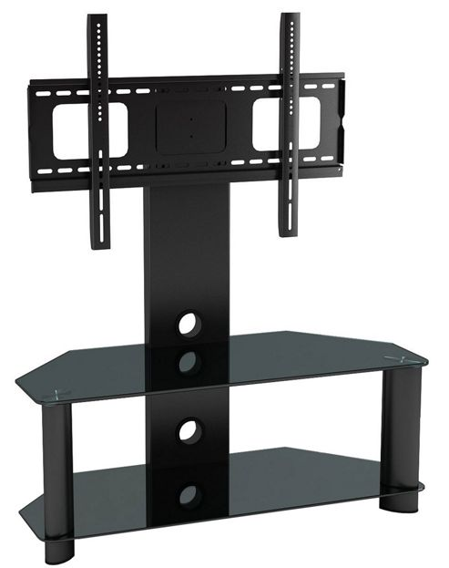 Piano Black Universal TV Stand for up to 50 inch TVs