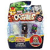 """Ooshies """"Marvel Series 1"""" Action Figure (Pack of 4) - Set 3"""