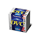 AY-DVM60FE5B 5 Pack of DVM Tapes