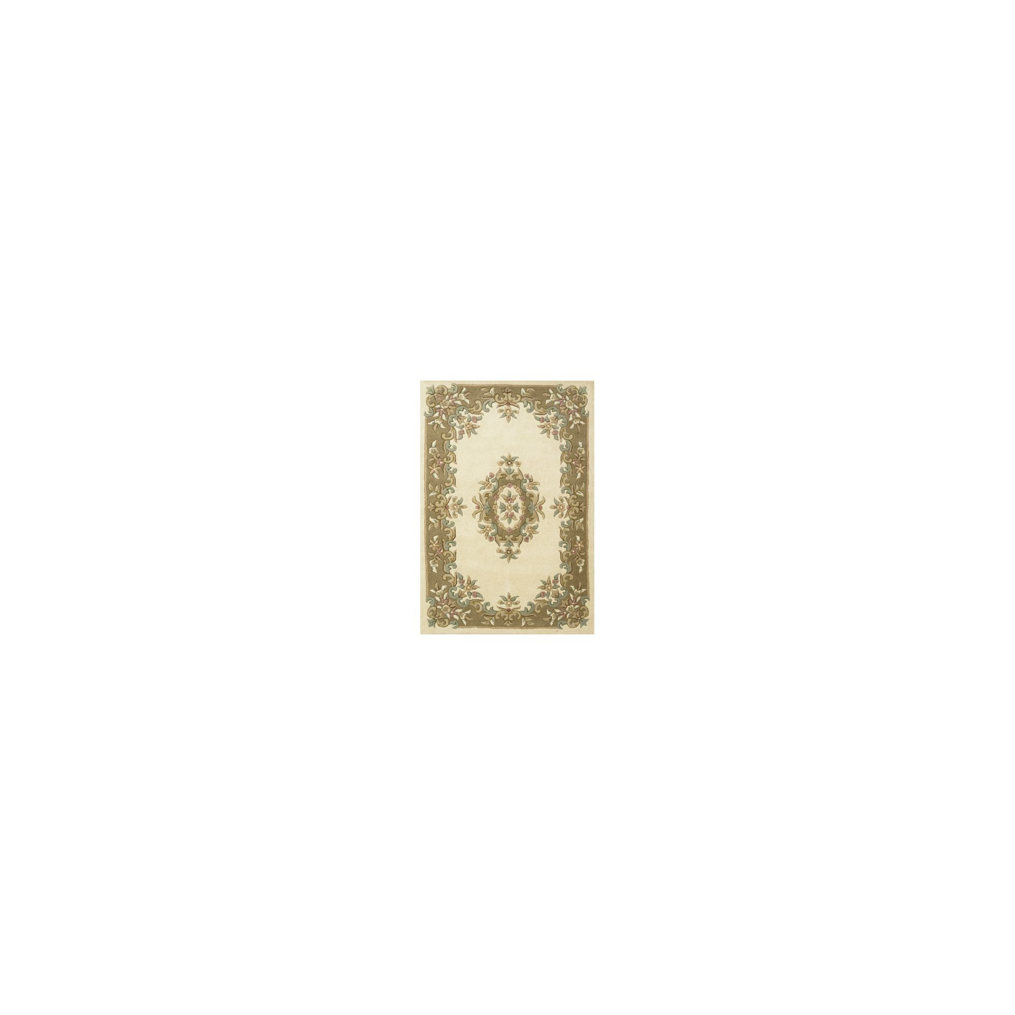 Brook Lane Rugs Royal Cream/Beige Classic Oriental Rug - 160cm x 235cm at Tesco Direct