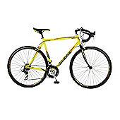 56cm Viking Jetstream 14 Speed 700c Wheel Gents, Yellow/Black