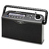 Roberts Classic Lite Digital DAB/FM RDS Stereo Radio - Black
