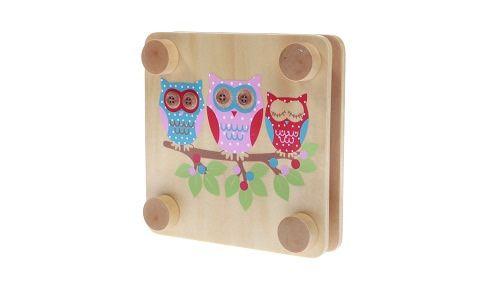 Large Owl Flower Press