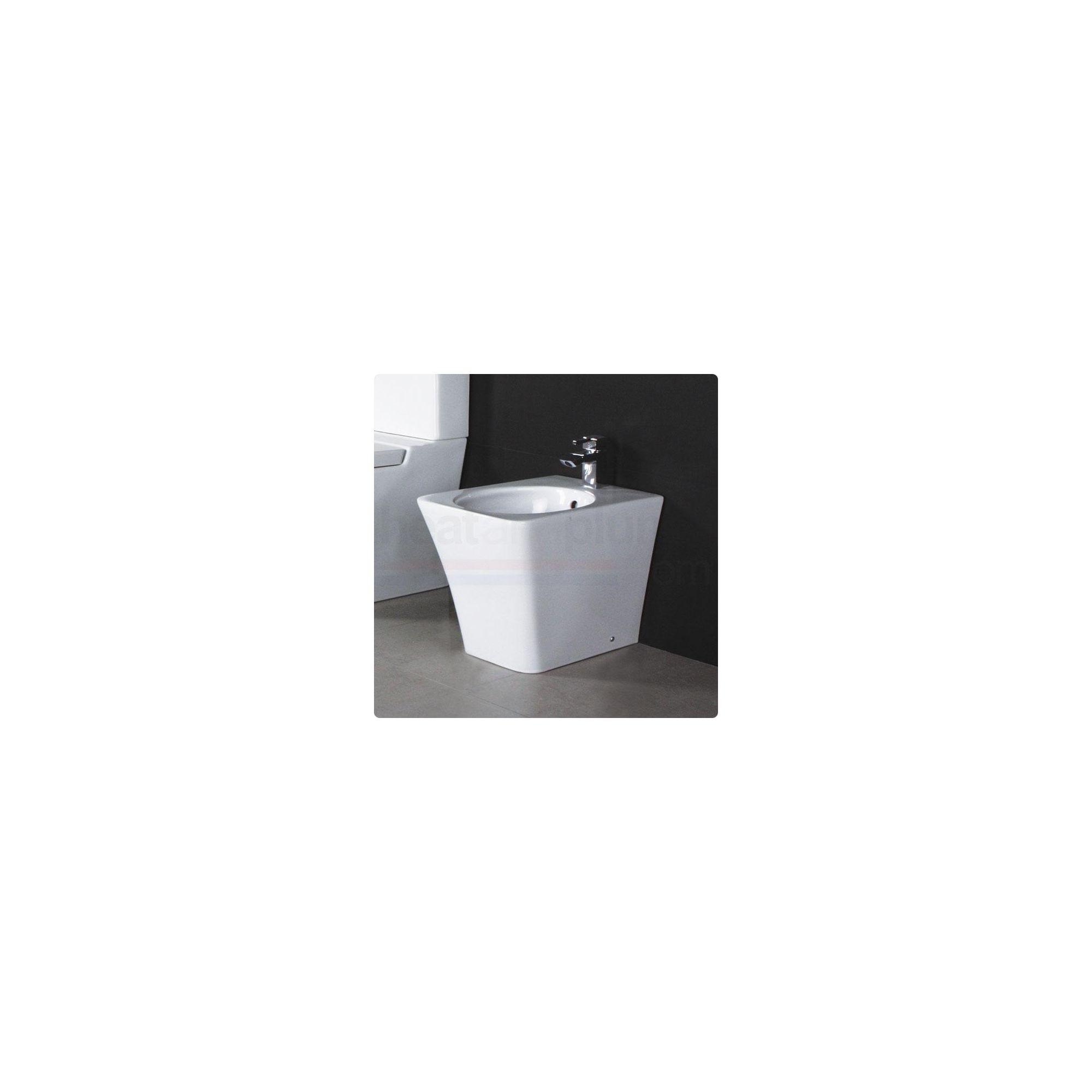 RAK Opulence White Floor Standing Bidet at Tesco Direct