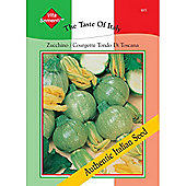 Courgette 'Tondo di Toscana' - Vita Sementi® Italian Seeds - 1 packet (45 courgette seeds)