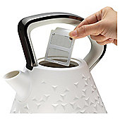 Morphy Richards Prism Pyramid Kettle, 1.5L – White