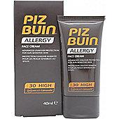Piz Buin Allergy Face Cream 40ml SPF30