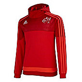 adidas Juniors Munster 2015/16 Hooded Sweatshirt - All Sizes Available - Red