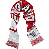2014-15 England Nike World Cup Supporters Scarf - White