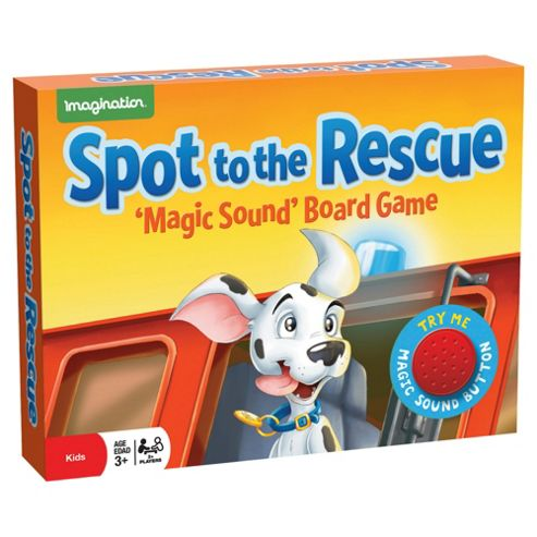 Spot to the Rescue magic Sound Game