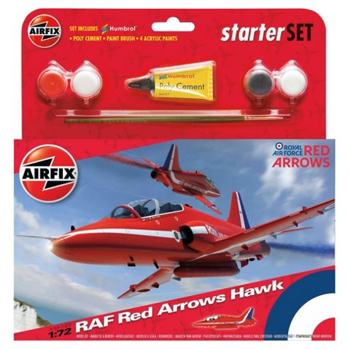 Airfix Red Arrow Hawk Starter Set