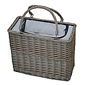 Wicker Valley Cooler Basket