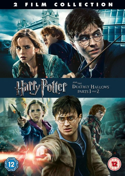 Harry Potter 7: Harry Potter & The Deathly Hallows - P1&2 Dbl
