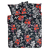 F&F Home Poppy Print Single Duvet