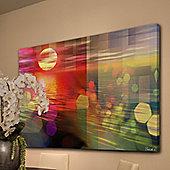 Parvez Taj Sunset Wall Art - 61 cm H x 91 cm W x 5 cm D