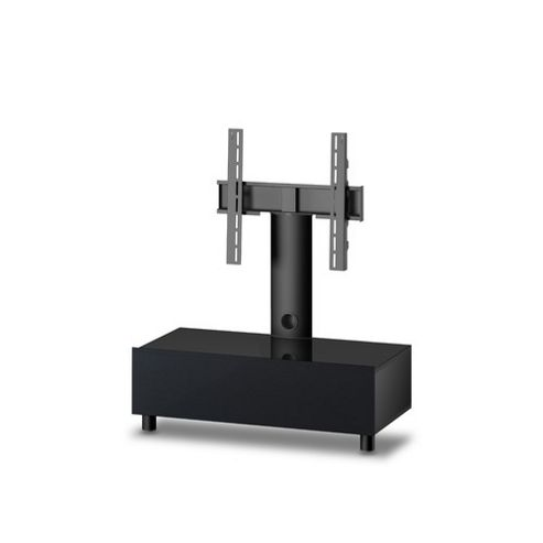 Sonorous Neo Troy TV Stand - Graphite / Black