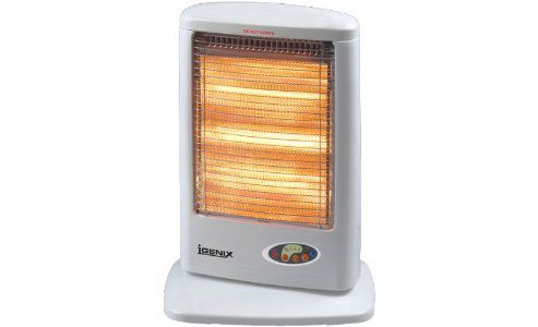 Igenix IG1210 1200W Halogen Heater With Remote and Timer