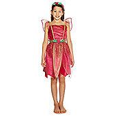 F&F Pink Fairy Dress-Up Costume - 3-4 yrs