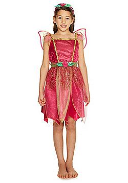 F&F Pink Fairy Dress-Up Costume years 03 - 04 Pink