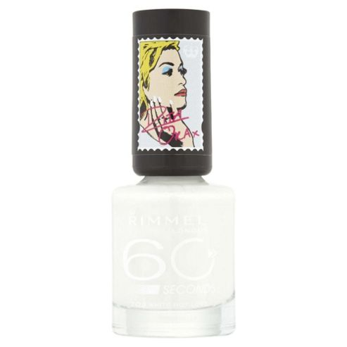 Rimmel 60 Seconds Rita Ora Nail Polish White Hot Love