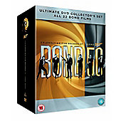James Bond 007 Complete DVD Collection