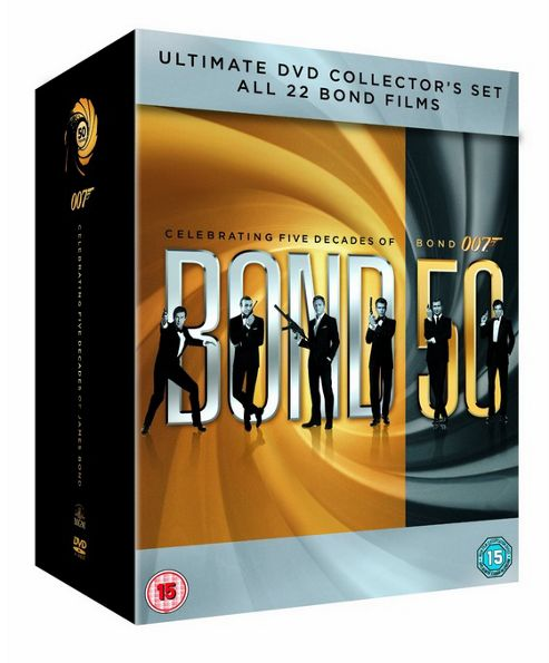 James Bond 007 Complete (DVD Boxset)