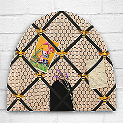 Bee Hive Fabric Notice Board