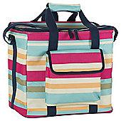 Navigate Stripe Family Cool Bag - 20 Litres