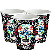Day of the Dead Party Cups - 266ml
