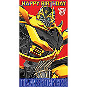 Transformers Birthday Card