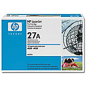 HP No.27A Black Print Cartridge (Yield 6000 Pages) for LaserJet 4000