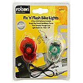 Maplin Rolson Fix n Flash Bike Lights