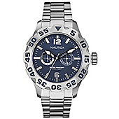 Nautica Gents Bracelet Watch Blue A20099G
