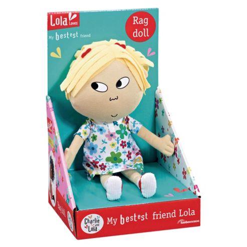My Bestest Friend Lola Rag Doll