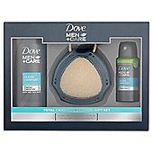 Dove Men+Care Total Care Shower Tool Gift Pack