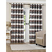 Torres Natural Eyelet Curtains - 90x72 Inches (229x183cm)