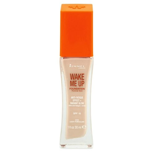 Rimmel London Wake Me Up Foundation 010 Light Porcelain