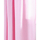 Pink Gingham Curtains 72s