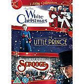 White Christmas/Little  Prince/Scrooge (DVD Boxset)