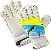 Puma Evopower Grip 2.3 Ic (Inseam/Negative) Goalkeeper Gloves Size - White
