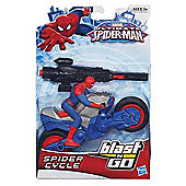 Marvel Ultimate Spider-Man Blast N Go Spider Cycle