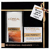 L'Oreal Paris Age Perfect Re-hydrating & Radiance Ritual Gift Set
