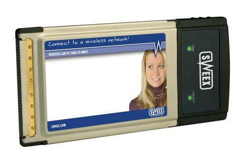 SWEEX WIRELESS 54G - PC CARD