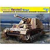 Dragon 6535 Std. Kfz. Hummel-Wespe Le Pz Haub 1:35 Smart Model Kit