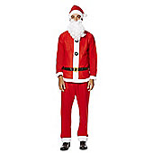 F&F Santa Dress-Up Costume - Red